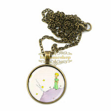 The little prince pendant glass dome necklace kids men women handmade jewelry