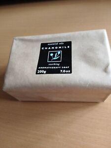 Arran Aromatics Chamomile Aromatherapy Handmade Soap . Pack of 3