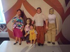 Lundby Dolls House Family of Dolls Vintage