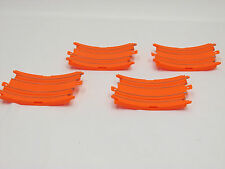 "MATTEL / TYCO 1/8"" TRANSITION LOOP TRACKS ~ 4 PC ~ NOS ~ HOT WHEELS"