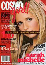 Cosmo Girl 12/00,Sarah Michelle Gellar,December 2000,NEW