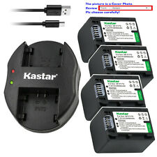 Kastar Battery Dual Charger for Sony NP-FV70 & Sony DCR-SX15 DCR-SX20 DCR-SX21