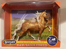 Breyer 70th Anniversary Saddlebred #1825 NIB