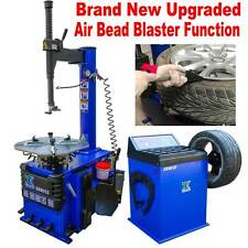 A+++ 1.5 HP Tire Changer Wheel Changers Machine Balancer Rim Clamp Combo 950 680