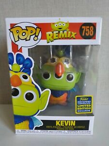 Funko Pop Kevin Remix Pixar Disney SDCC 2020 Exclusive- CAJA LEVE DAÑO VER FOTOS