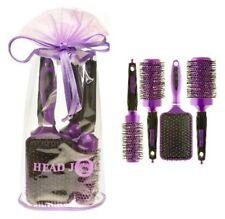 Head Jog 4 Piece Ceramic & Ionic Purple Brush Gift Set