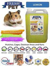 5 L Fresh-Pet Lemon-rongeur spécialiste désinfectant lapin clapier cage fonctionne