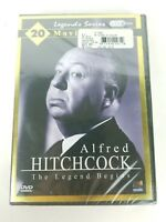 Alfred Hitchcock The Legend Begins DVD 20 Movies New Factory Sealed Free Shiping