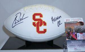 Carson Palmer Signed USC Trojans Football JSA H03801 Heisman Bengals Cardinals