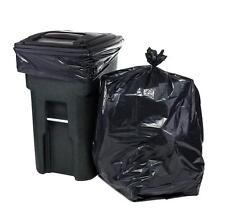 ToughBag 65 Gallon Trash Bags for Toter (Black, 100 Garbage Bags Per Case)