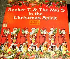 "BOOKER T & THE MG'S ""The Chriatmas Spirit"" 1966 JAZZ MONO Stax PROMO SOUL FUNK"