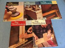 Fine Woodworking Magazine 1992 5 issues,