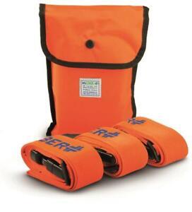 MEBER MEDICAL Patient Backboard/Stretcher Straps/Securing Belts x3