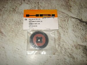 HPI Savage X 49 Tooth 32 Pitch Spur Gear Set Plastic Black With Pads (1) 77094