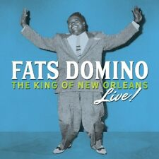 FATS DOMINO - KING OF NEW ORLEANS LIVE  3 CD NEUF