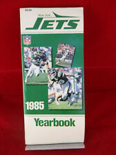 Vintage New York Jets NFL Football 1985 Yearbook