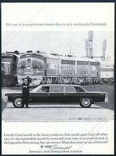 1965 Lincoln Continental stretch limo limousine photo vintage print ad