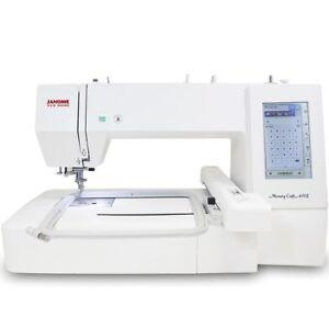 Janome Memory Craft 400E MC400E Embroidery Machine Refurbished