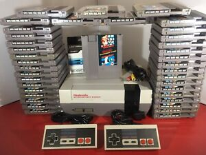 Original Nintendo Nes Console  + Super Mario Bros - LED Mod - Refurbished