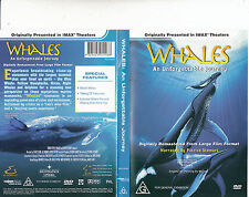 Whales:An Unforgettable Journey-Narrated By Patrick Stewart-2002 Imax-DVD