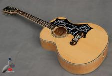 Elvis Presley Acoustic Guitar Rosewood Fingerboard Nature Solid Wood Elvis Presl