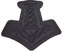THOR HAMMER  EMBROIDERED BACK PATCH