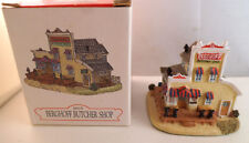 Liberty Falls Collection ~ Berghoff Butcher Shop ~ Mint In Box Ah131
