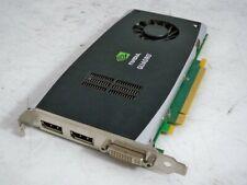 Nvidia Quadro FX 1800 600-50744-0500-301 BVideo Card DVI 2*Display Port PCIE