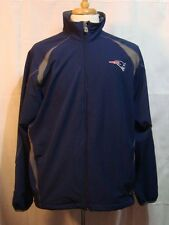 New England Patriots Warm Up Front Zip Jacket by NFL Team Apparel - Size L