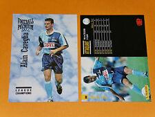 A. CAVEGLIA LE HAVRE AC HAC JULES-DESCHASEAUX FOOTBALL CARD PREMIUM PANINI 1995