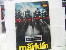 MÄRKLIN  Katalog 1977 SIEHE BILD (2 Aufkleber auf dem Deckblatt)