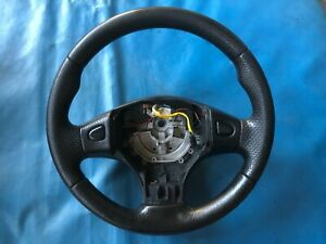 Rover 200/400 (R8) Black Leather Steering Wheel (1989 - 1999)