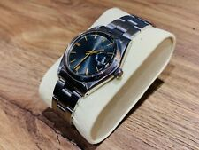 Rolex Oysterdate Precision 6694 , Wonderful Slate grey dial with Gold Batons