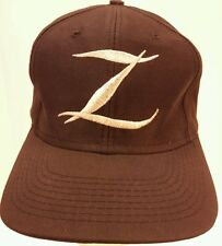 Zorro Black Vintage Embroidered Snapback Hat Cap