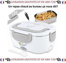 Boite Chauffante Lunch Box Electrique Allume Cigare 12V Repas Chaud Pique Nique