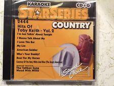 SOUND CHOICE STAR SERIES KARAOKE CD+G HITS OF TOBY KEITH VOLUME 2 2444