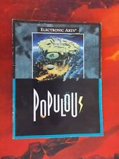 Populous Sega Genesis Manual instruction booklet Only NO GAME EA games