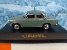 1/43 IXO Alfa Romeo Giulietta Italy Police 1959