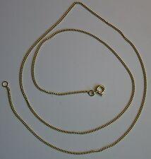 Halskette 333er- Gelbgold. 50cm. Panzerkette!  Insolvenzware!