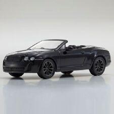 Kyosho 1/64 Bentley Continental Super Sports Convertible (Black) Diecast Car