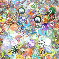 Lot of 100 Pogs / Milk Caps + Slammer Unsorted! Retro Game Nostalgia! Skull