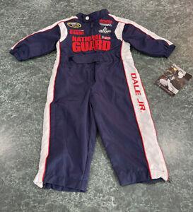 Dale Earnhardt Jr. National Guard Pit Crew Jumpsuit Baby Size 12 Months **NEW**