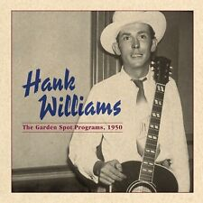 HANK WILLIAMS - 1950 RADIO (GARDEN SPOT) SONGS - COLOR VINYL LP - NEW & SEALED