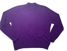 Knit Sweater Size L Purple