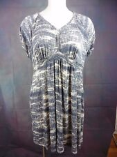 DAISY FUENTES Womens Plus sz 3X Graphic Stretchy Dress