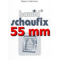 Bandes Hawid Schaufix double soudure 210 x 55 mm pour timbres-poste.