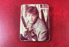 Pin Badge VINTAGE Soviet underground USSR Russia BRAVO PAUL  McCARTNEY.MEGA RARE