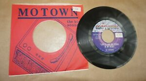 """tHE sUPREMES """" He´s all I got / Love is like.."""" Vinyl 7"""" Motown 1094 US"""
