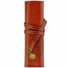 Twilight Retro Bandage Synthetic Leather Pen Bag Pencil Case Makeup Pouch New