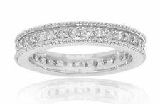 1.50 ct Ladies Round Cut Diamond Eternity Wedding Band Ring In Platinum VS-2